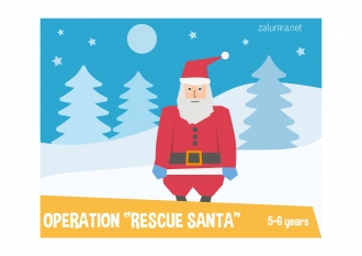 Operation Rescue Santa - 5-6 years
