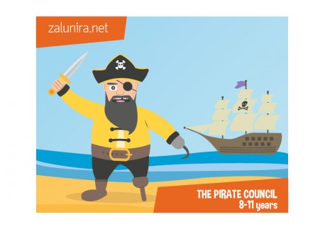 The pirate council - 8-11 years