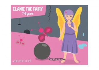Elanie the Fairy - 7-9 years